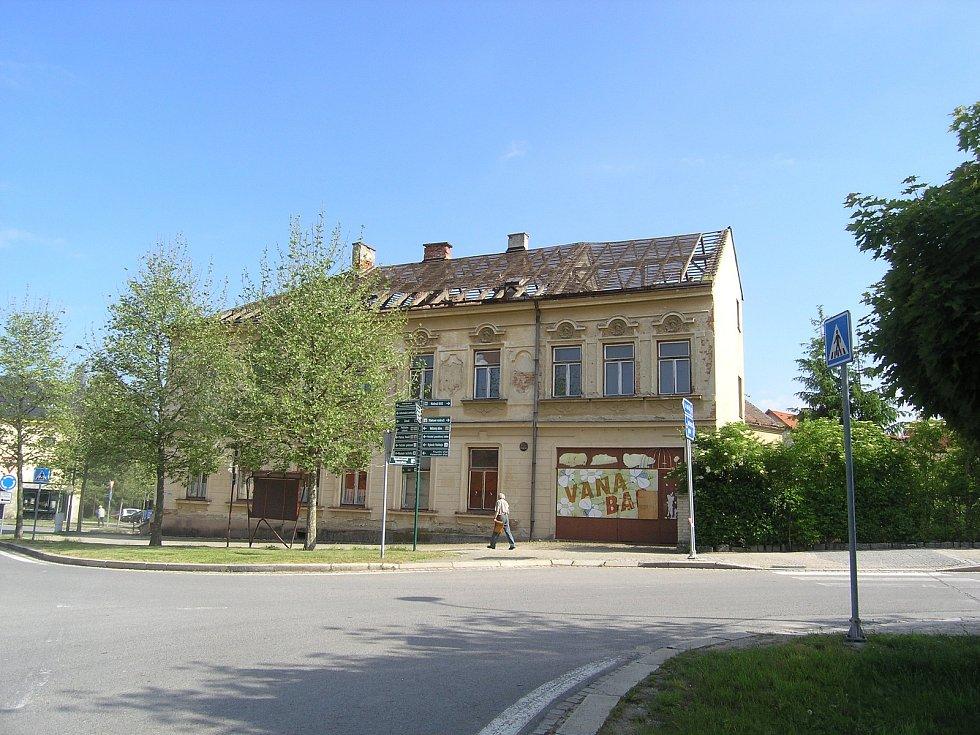 Takto původně vypadal secesní Hotel Na Růžku v Telči. Foto: Archiv Nechte Růžek žít