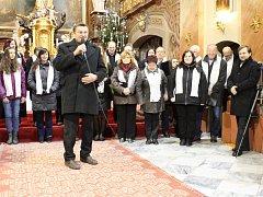 Poslední koncert v chrámu sv. Markéty v Jaroměřicích nad Rokytnou před jeho celkovou rekonstrukcí.