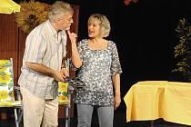 Ve středu večer se třebíčskému publiku představí v komedii Alana Ayckbourna Jan Rosák a Dana Homolová.