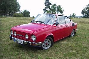 Škoda 110 R Jiřího Skalky.
