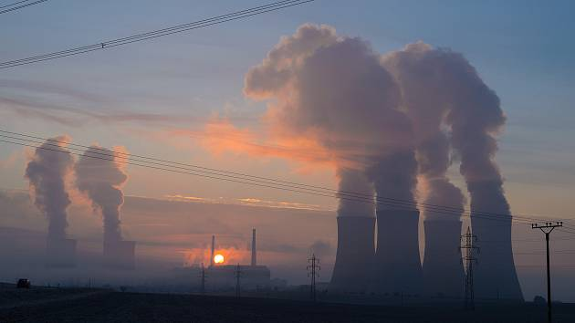 Dukovanská elektrárna.