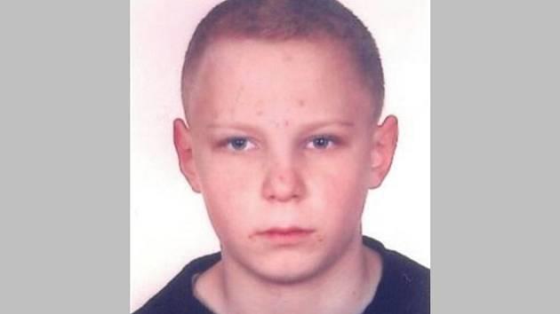Pohřešovaný čtrnáctiletý chlapec Jan Havelka z Lesonic.