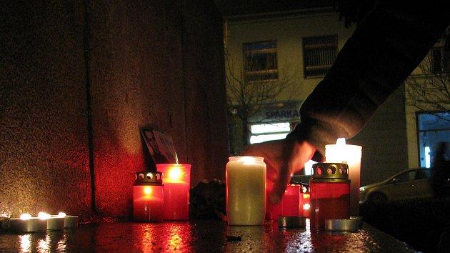 Připomínka 17. listopadu v Třebíči