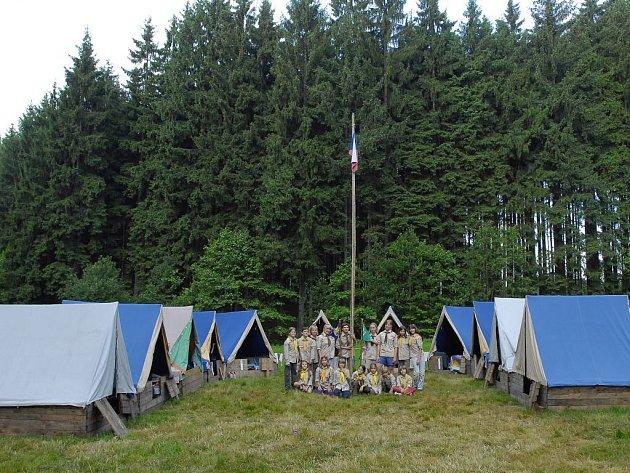 Vysočina s přírodním bohatstvím a čistým vzduchem je vyhledávaným regionem i pro organizátory táborů z okolních krajů.