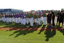 Prvního ročníku Euro Baseball Tour se loni vTřebíči účastnilo sedmasedmdesát registrovaných hráčů vsedmi týmech. Do druhého ročníku se přihlásilo téměř dvě stě hráčů, kteří budou rozděleni do patnácti týmů.