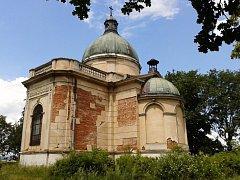 Hrobka rodu Pallavicini.