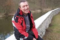 Karel Šalbaba, předseda Vodní záchranné služby ČČK v Třebíči