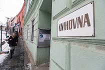 Budova knihovny v Třebíči.