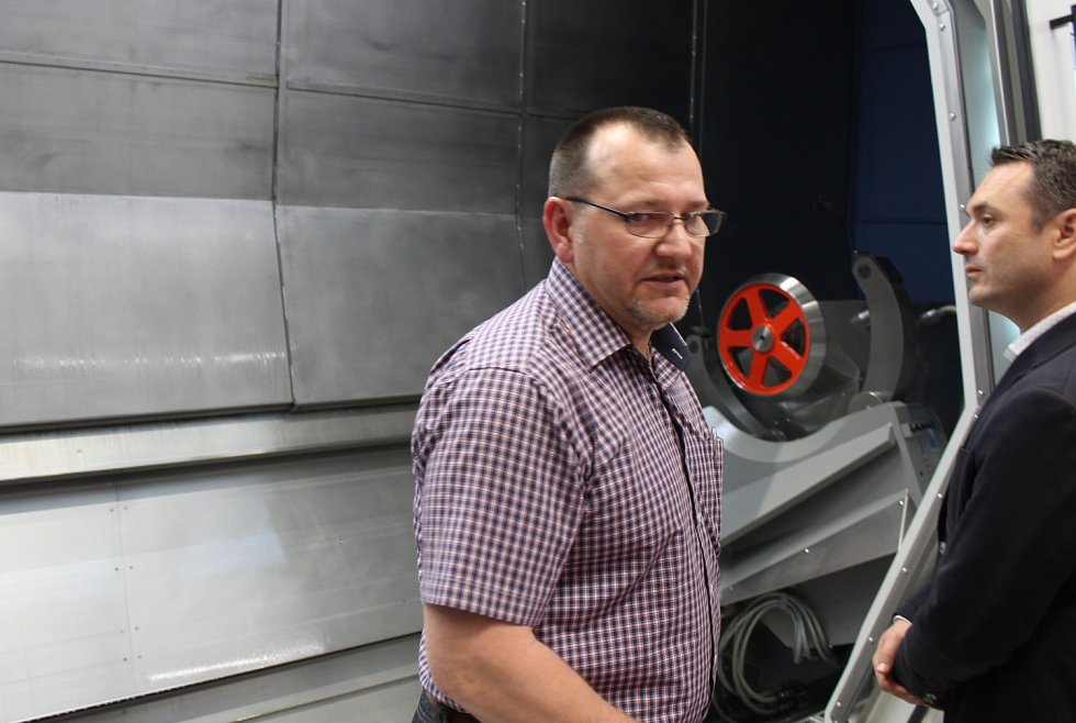 Třetí výrobní hala americké firmy Milacron v Šašovicích u Želetavy.