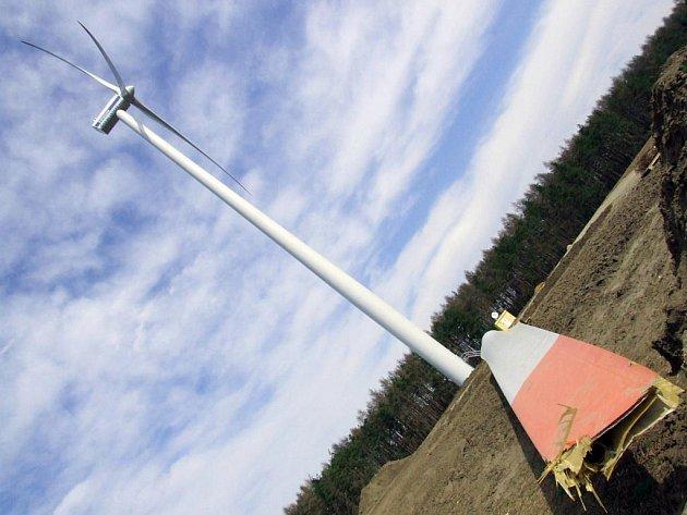 Větrník u Rešic.