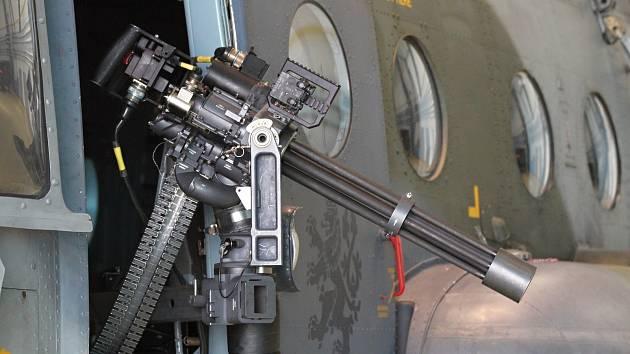 Ilustrační foto z náměšťské vrtulníkové základny.