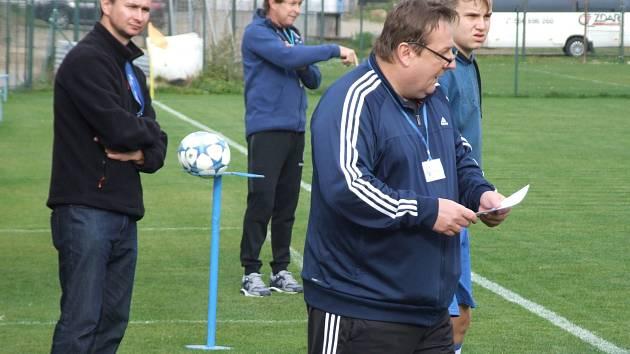 Krátce po zahájení zimní přípravy složil funkci kouč Želetavy Petr Kylíšek.