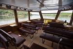 Výletní loď Horácko na Dalešické přehradě.