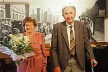 Manželé Oldřich a Alena Dokulilovi ze Sokolí.
