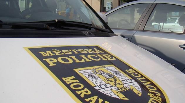 Městská policie Moravské Budějovice.