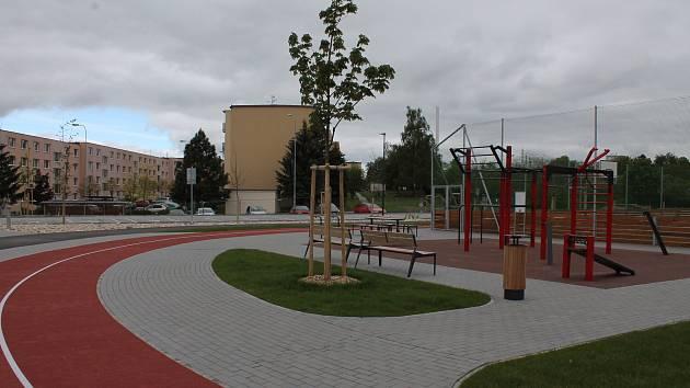Nejlepší veřejné hřiště budou otevírat v Borovině