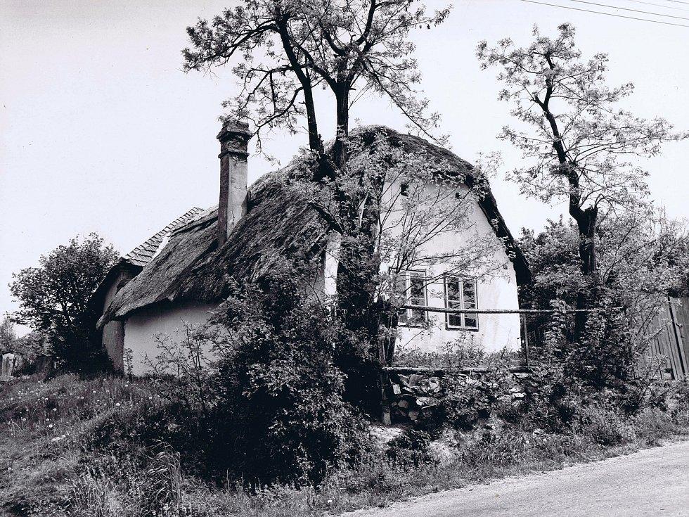 Zaniklá obec Heřmanice u Dukovan na Třebíčsku v dobových fotografiích. Foto: poskytl Miloš Kudera