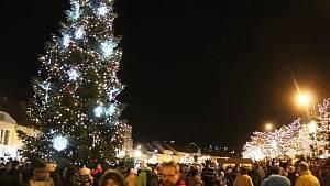 Vánoční strom v Třebíči