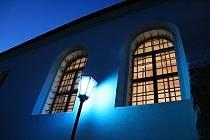 Zadní synagoga v Třebíči.