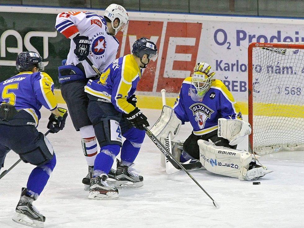 Zápas Ústí nad Labem proti Třebíči.