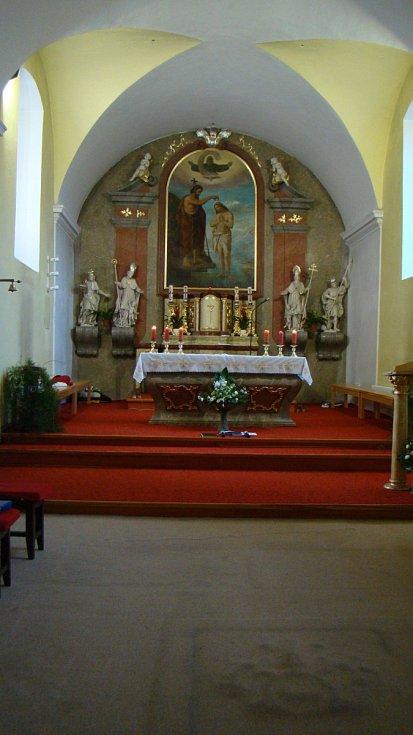 Kostel v Rokytnici nad Rokytnou, první a poslední působiště Jana Buly