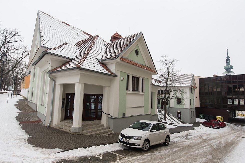 Freeshop DEJ-BER v Třebíči.