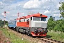 Expres Praha - Bratislava u Moravských Budějovic