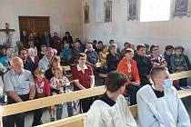 Kaple v Krnčicích.