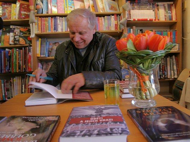 Stanislav Motl v Třebíči.