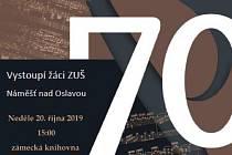 Slavnostní koncert k výročí ZUŠ.