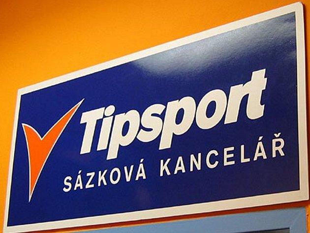 Sázková kancelář Tipsport, v současnosti největší sázková kancelář v České republice.