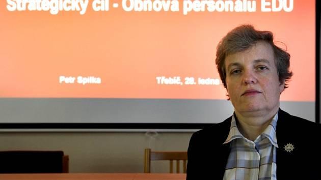Na tiskové konferenci na Střední průmyslové škole v Třebíči ve středu představili nový obor Energetika.