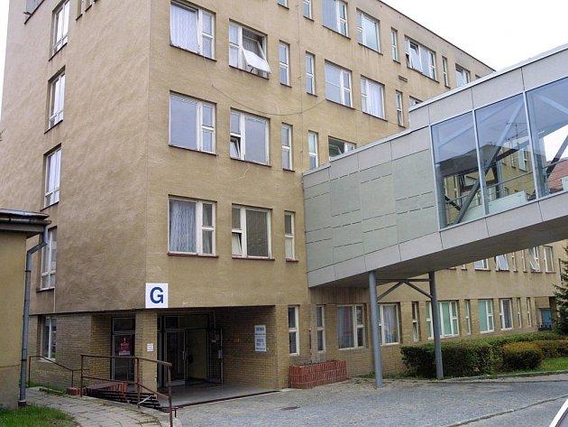 Porodní oddělení třebíčské nemocnice.