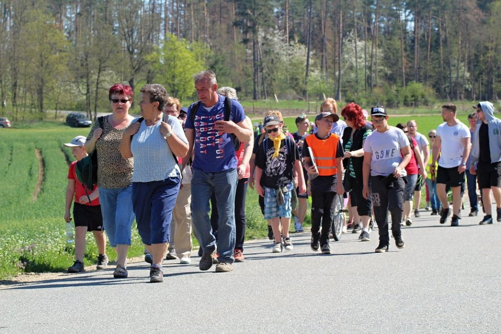 Den proti úložišti v lokalitě Na Skalním na Třebíčsku.
