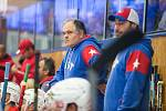 Čtvrté kolo hokejové Chance ligy mezi SK Horácká Slavia Třebíč a HC RT Torax Poruba.
