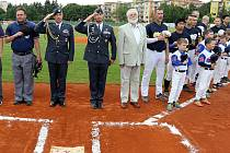 Army day na baseballovém stadionu v Třebíči.