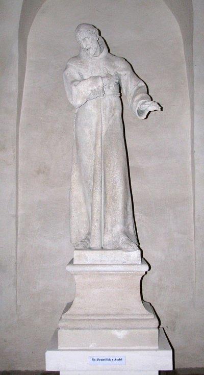 Sv. František z Assisi.