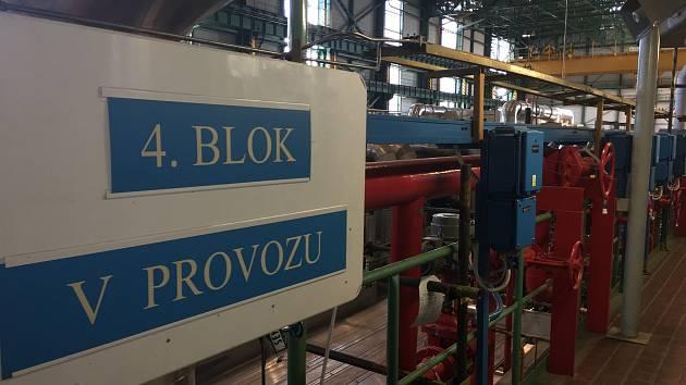 V Dukovanech obnovil výrobu elektřiny na čtvrtém výrobním bloku.