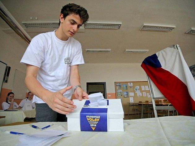 Ve školních volbách v Hotelové škole Třebíč zvítězila Česká pirátská strana.