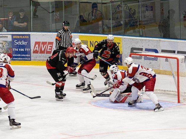 V hokejovém derby vyzrála budějovická Žihadla na Bruslaře
