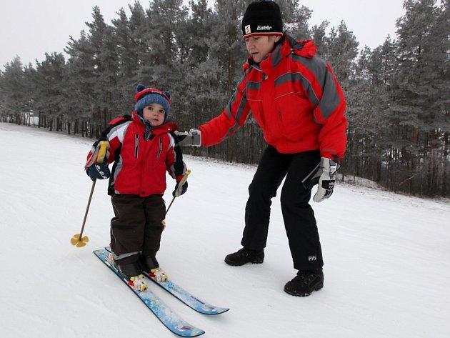 Ski areál Baby Třebíč.