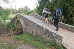 Cesta brtnických poutníků do Santiaga de Compostela.