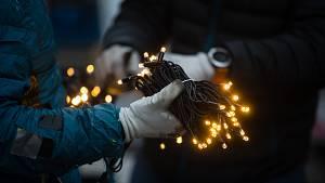 V Třebíči už připravují vánoční výzdobu