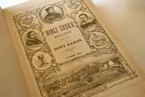 Památník Bible kralické v Kralicích nad Oslavou.