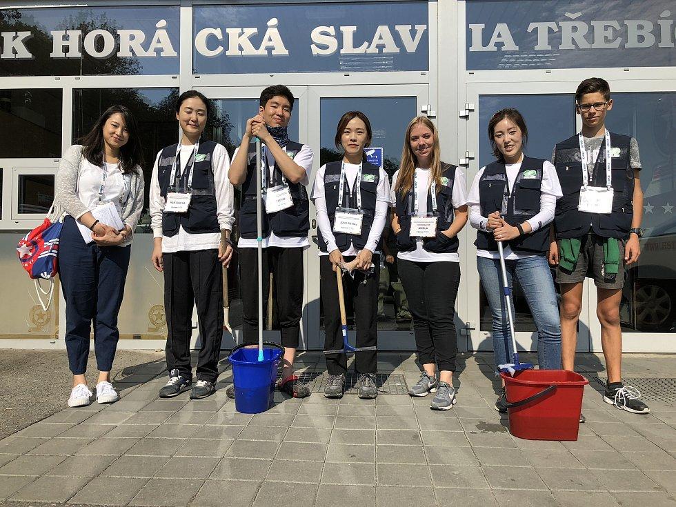Korejští dobrovolníci.