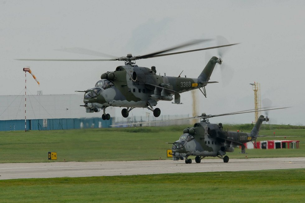 Vrtulníky Mi-24/35