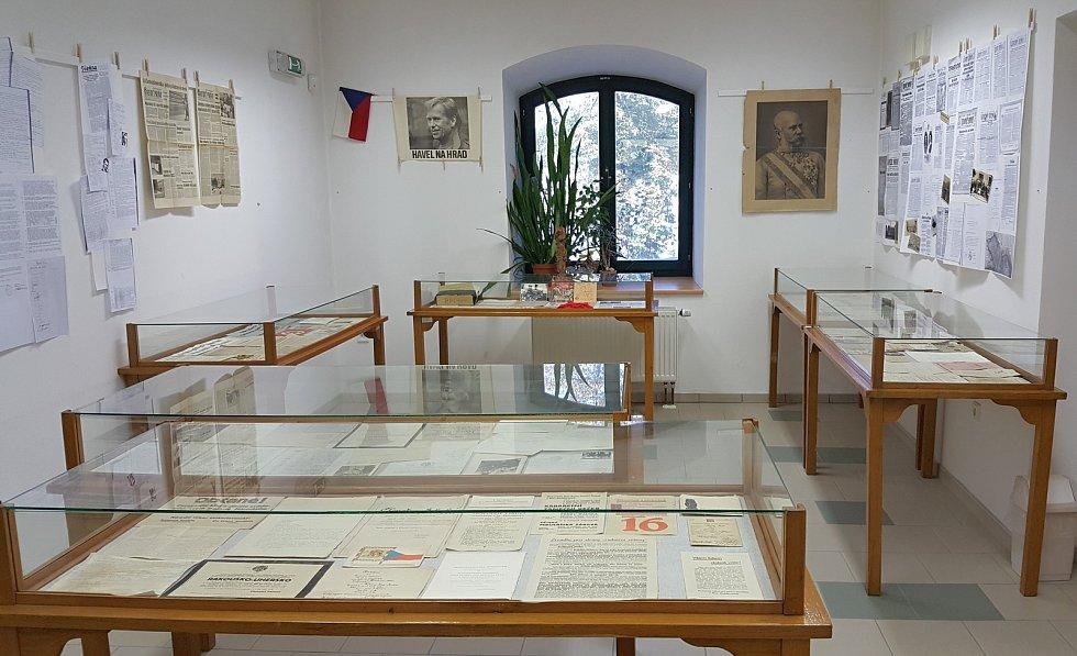 Výstava Tenkrát ve 20. století v Moravských Budějovicích.
