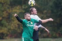 Fotbalový klub v Rapoticích (v zeleném) by se díky kvalitní práci s mládeží mohl za pár let dočkat progresu také u mužů.
