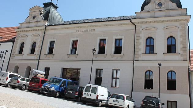 Kulturní dům Beseda v Moravských Budějovicích.
