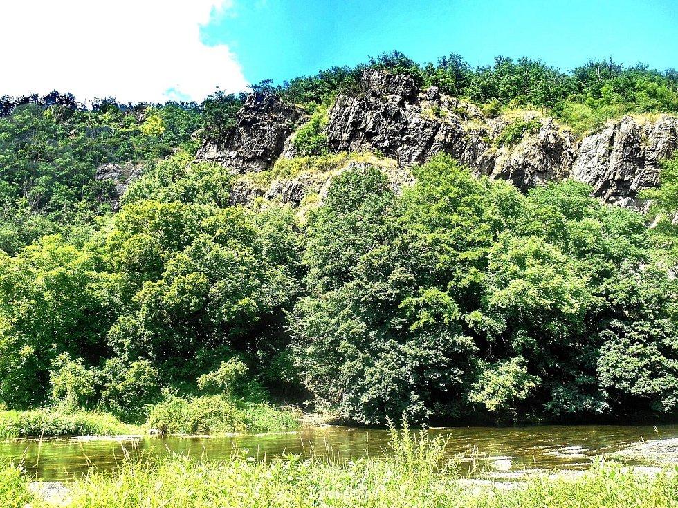 Údolí řeky Jihlavy pod Templštýnem